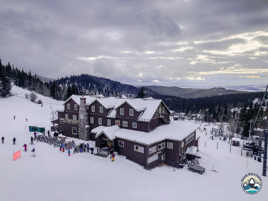Lodge at Chair 1 & 2, Big Mountain, Montana