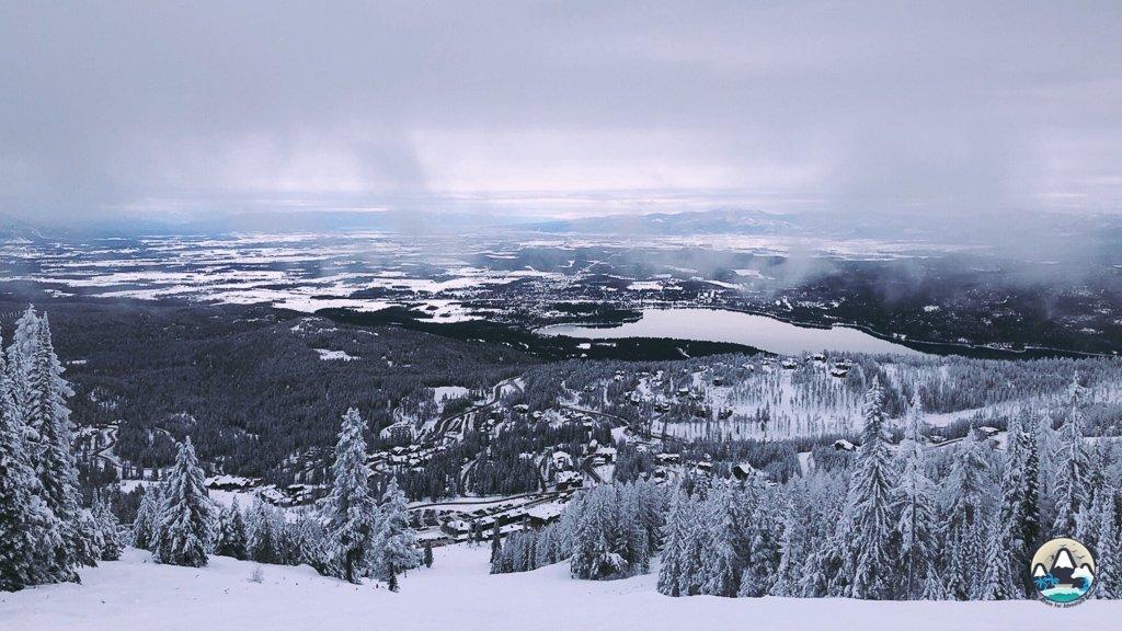 Panoramic views, ski Whitefish travel guide