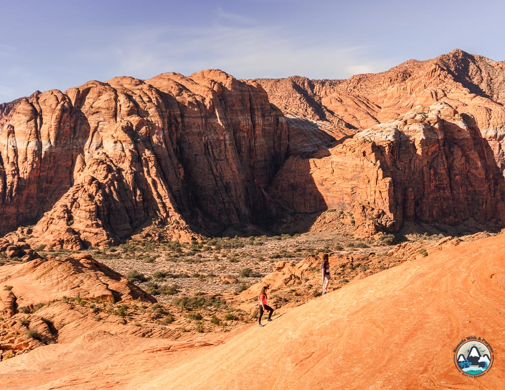 Petrified Dunes trail, best hikes in St George