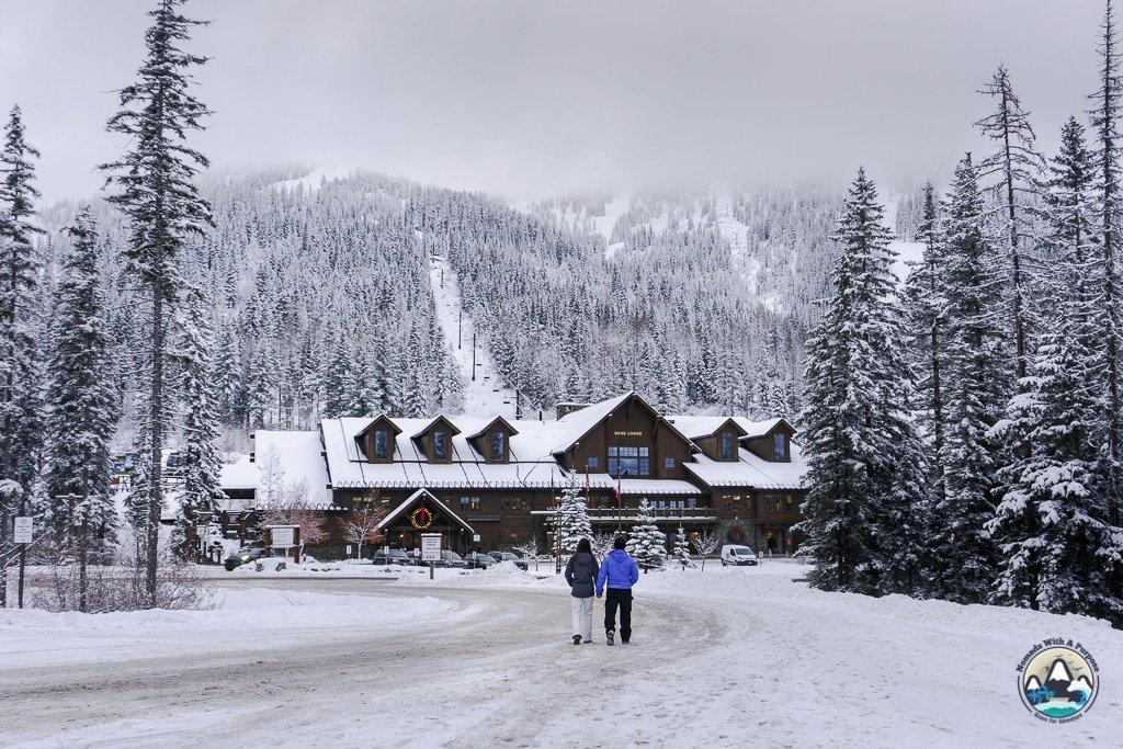 Base lodge at Whitefish Mountain
