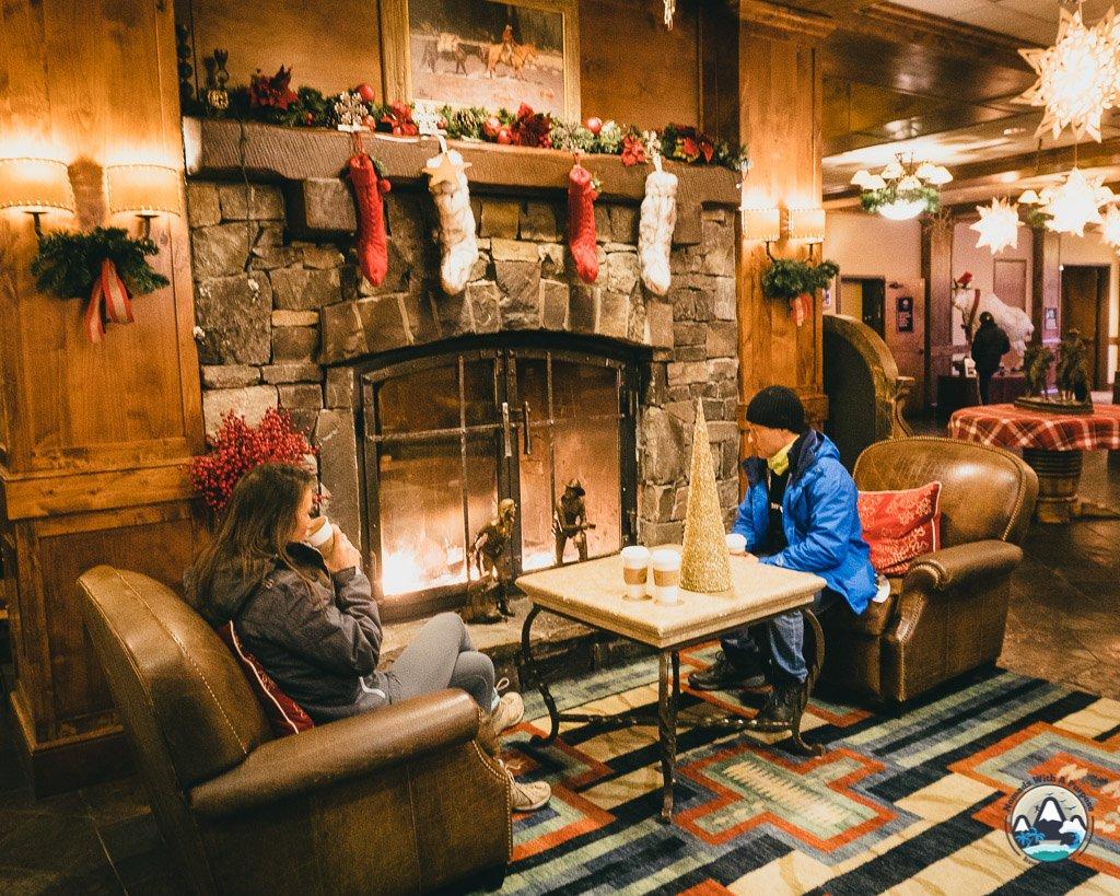 Coffee shop at Lodge at Whitefish Lake