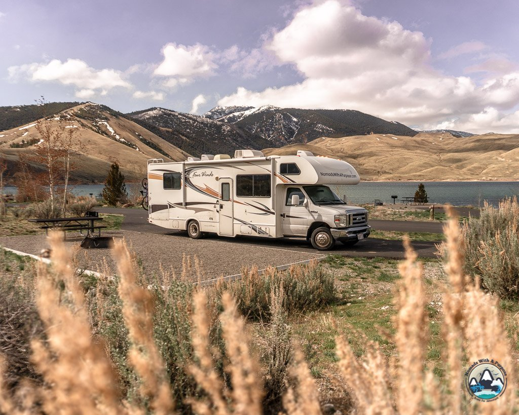 campground Joe T Fallen Idaho