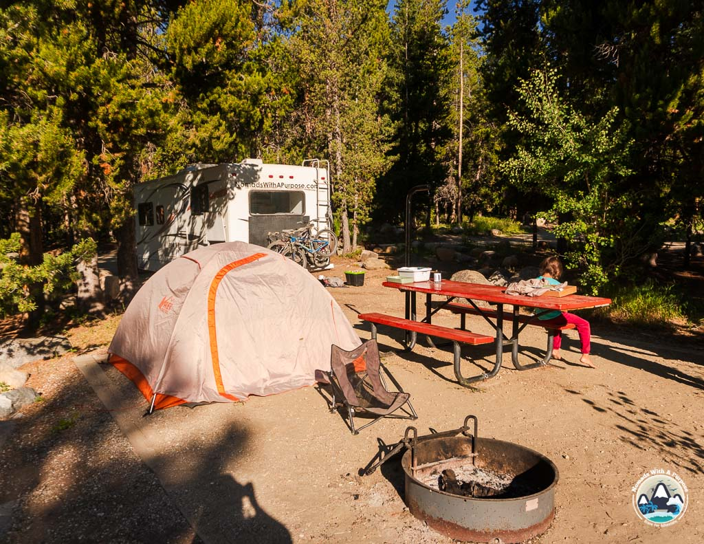 Campgrounds in Bighorn National Forest