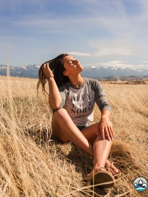 defy the norm, varsity tee, rv living, nomadic living, go against the grain