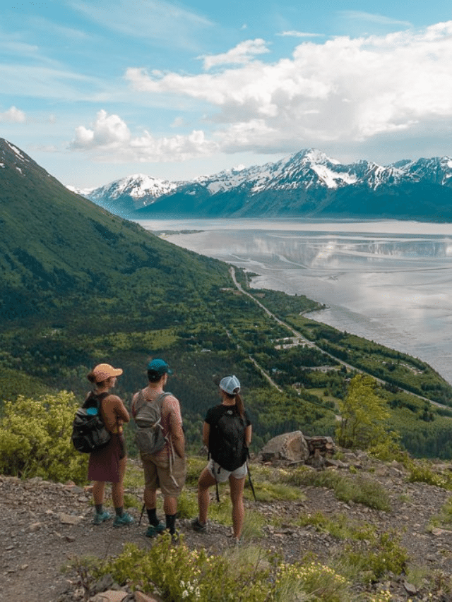 Amazing Hikes Anchorage, Alaska, Cover