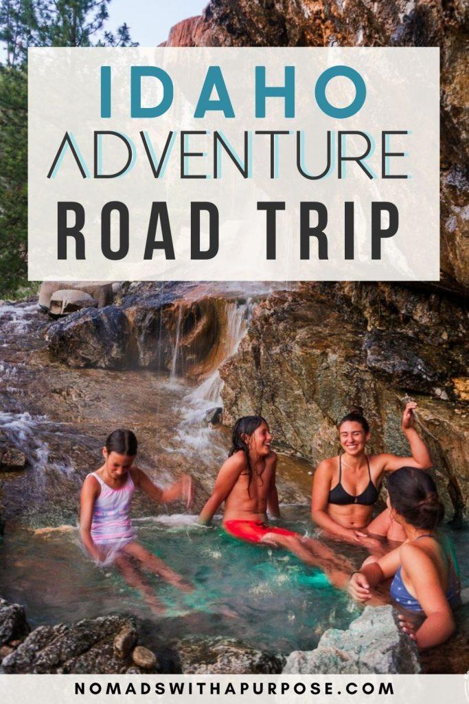 Idaho Adventure Road Trip Pin