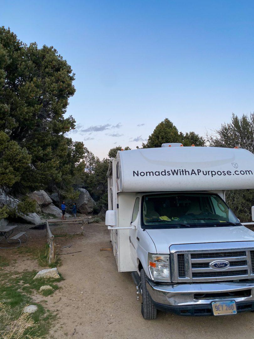 Camping City of Rocks