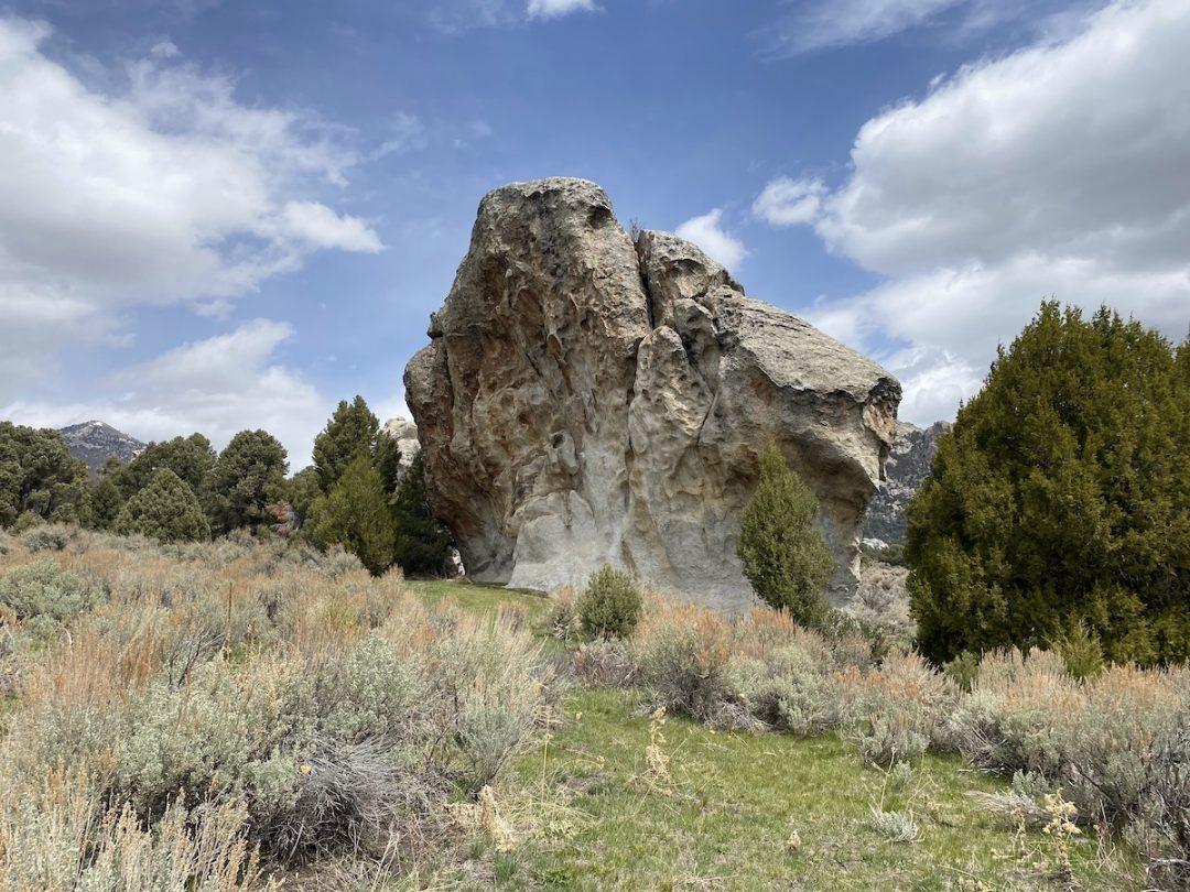 Mushroom Rock, city of Rocks