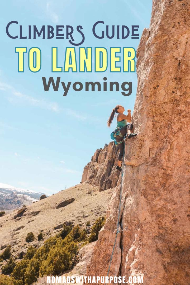 Lander Climbing Guide