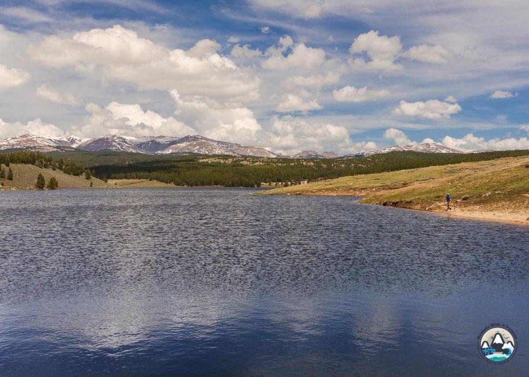 Lake point, Tensleep camping