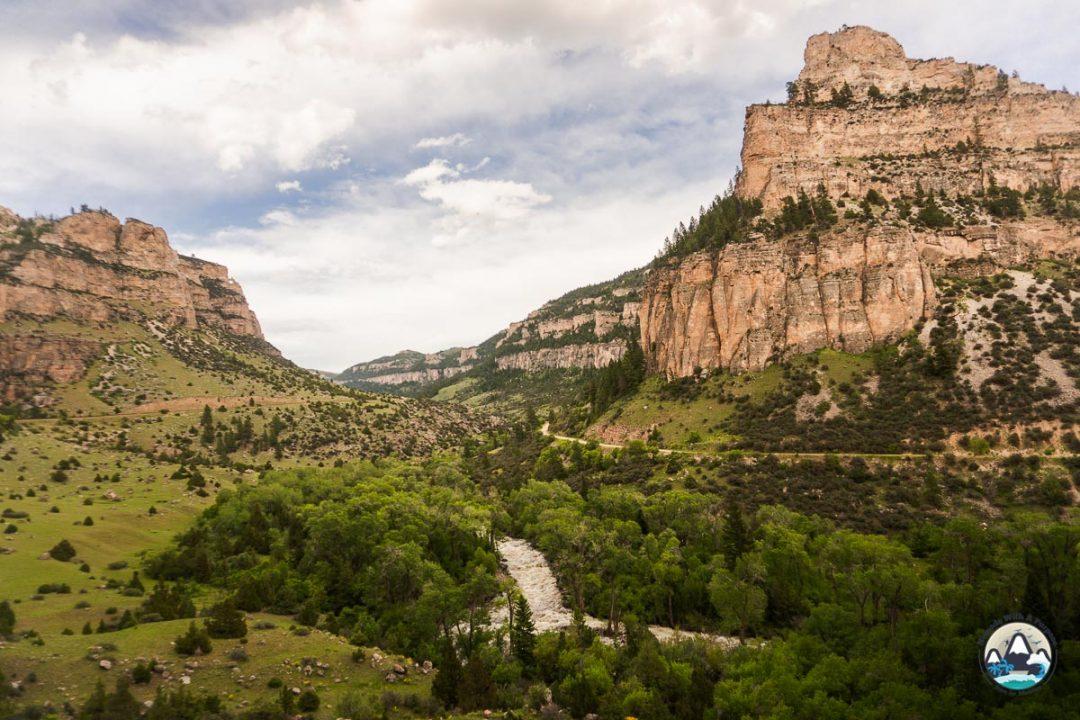 Tensleep canyon climbing