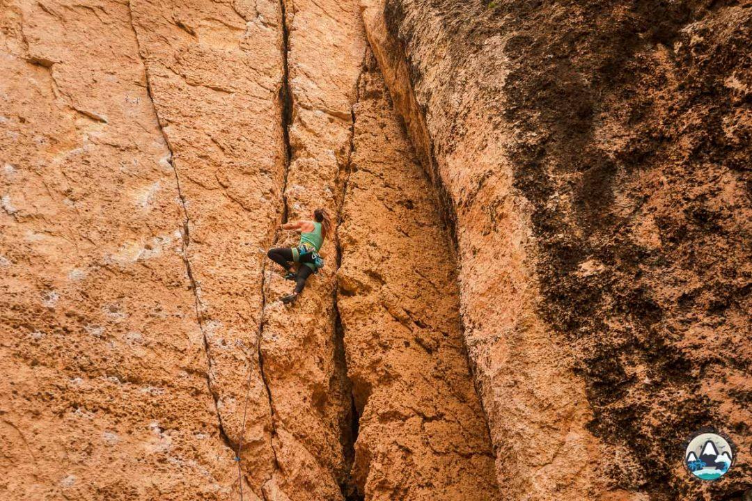 Climbing Wall of Denial, Tensleep