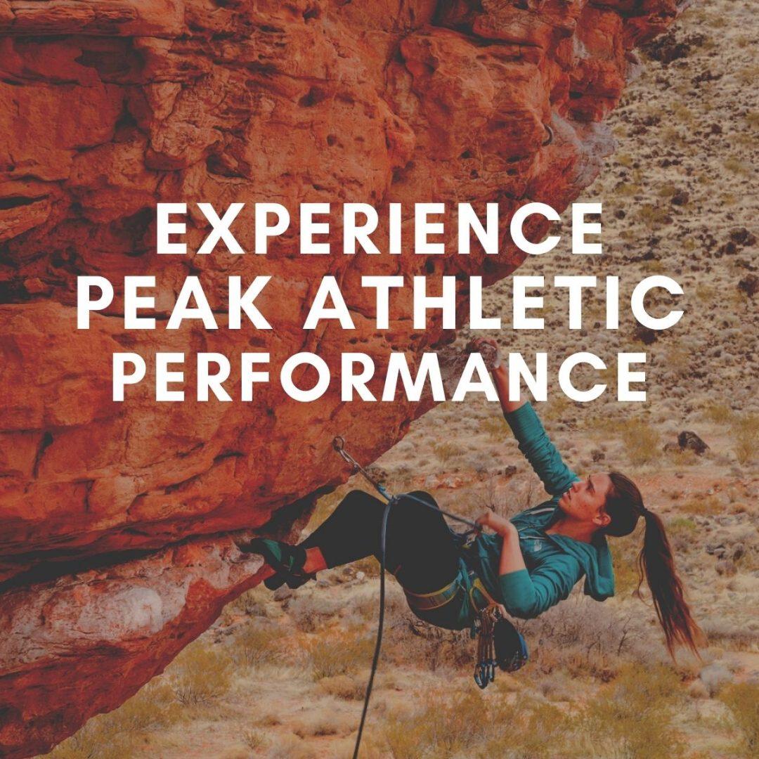peak performance, flow state, training