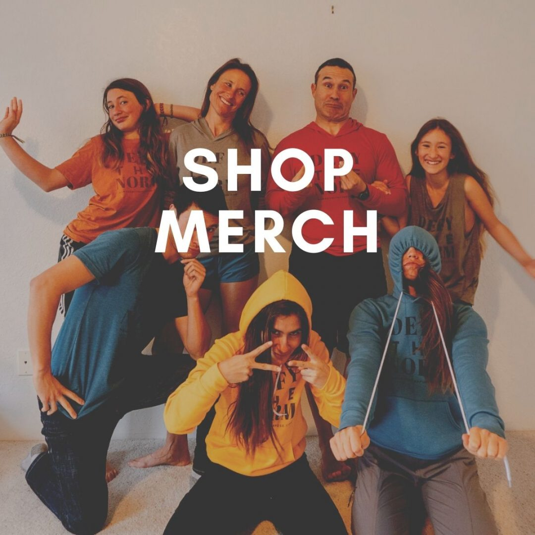 defy the norm shop, nomads with a purpose merch