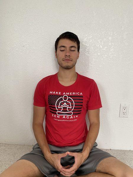 Make America Zen Again Mens Tee