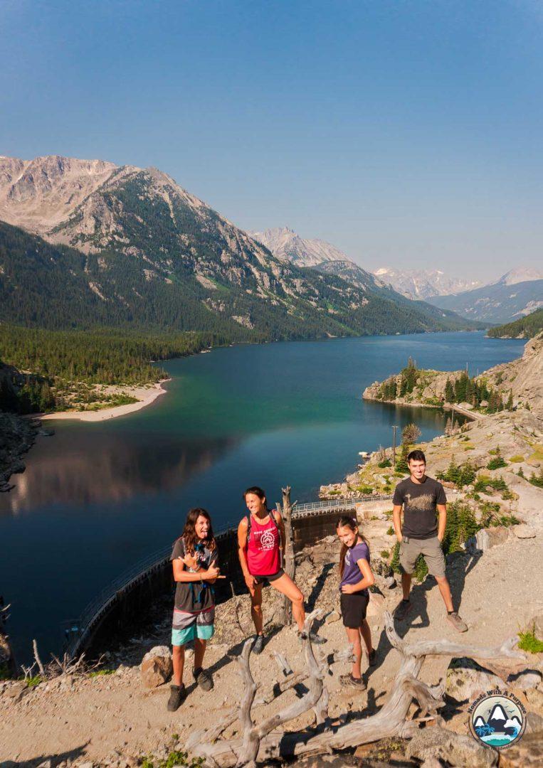 Hiking Mystic Lake, Montana