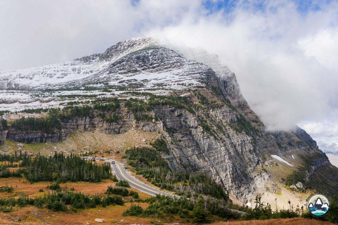 Logan Pass, Glacier in September